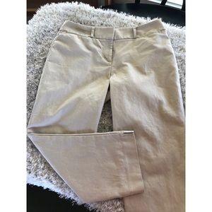 Ann Taylor Loft Rivera Pant Cropped Length Sz 10